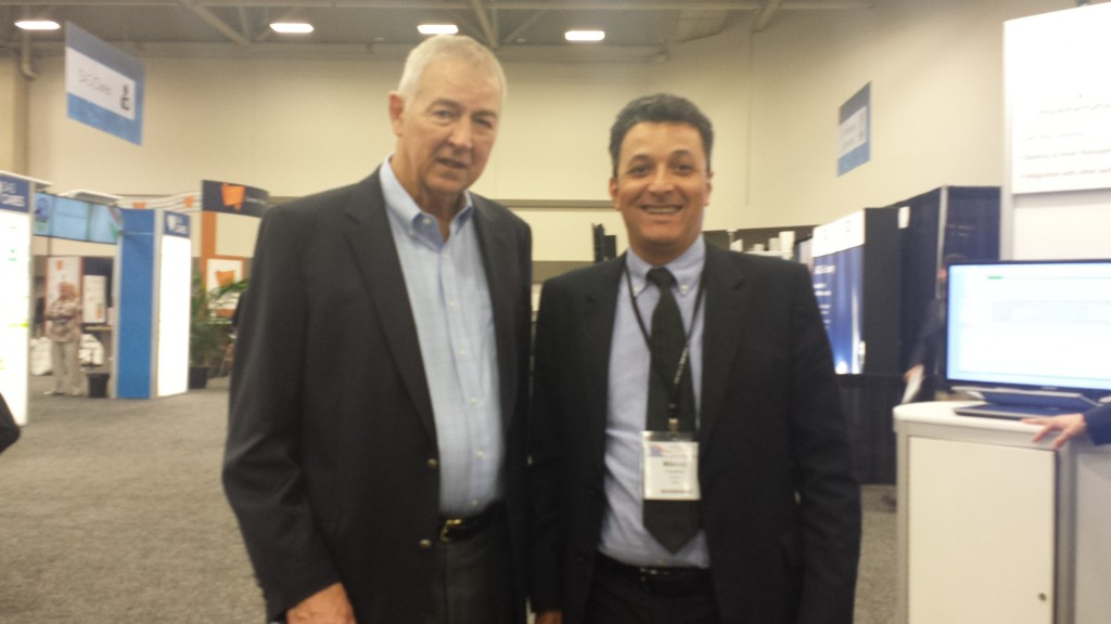 Jim Goodnight (SAS) e Márcio Faustino (Infomev)